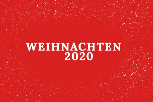 Sonderöffnungszeiten Weihnachten 2020